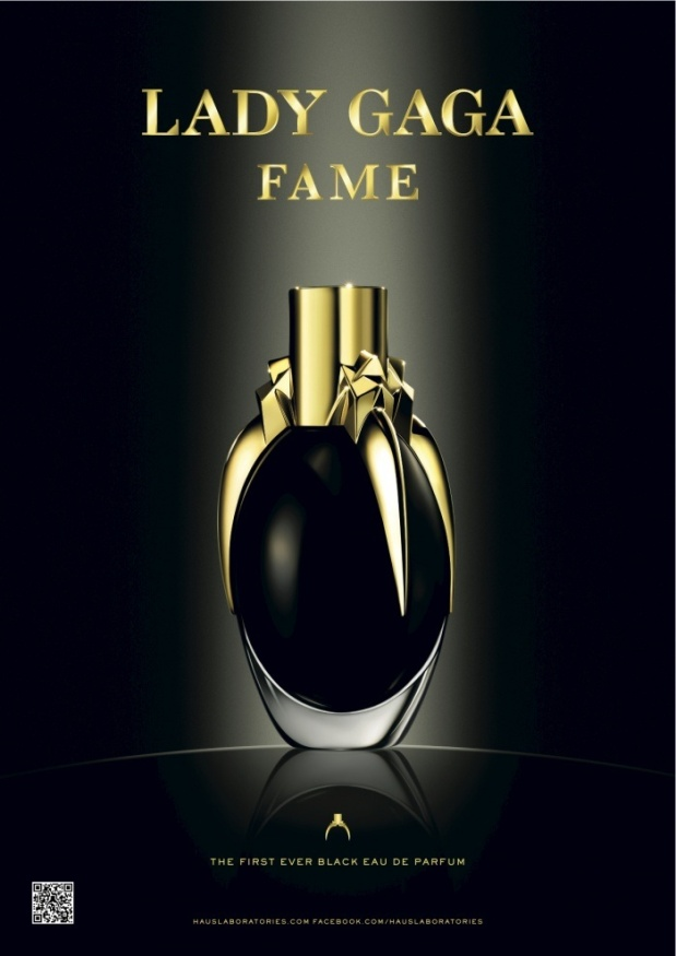 Lady Gaga perfume fame=beautiful